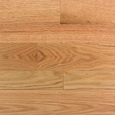 "Homestyle 2-1/4"" Solid Red Oak Hardwood Flooring in Natural"