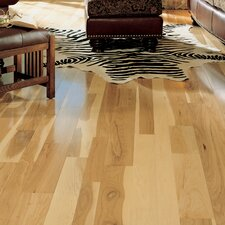 "Character 4"" Solid Hickory Hardwood Flooring in Natural"