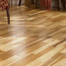 "Character 3-1/4"" Solid Hickory Hardwood Flooring in Natural"
