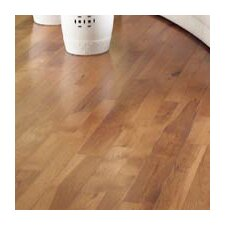 "Character 5"" Solid Hickory Hardwood Flooring in Saddle"