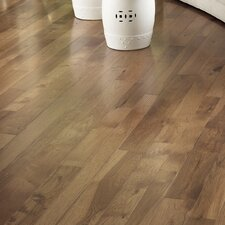 "Character 3-1/4"" Engineered Hickory Hardwood Flooring in Hickory Saddle"
