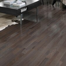 "Homestyle 2-1/4"" Solid White Oak Hardwood Flooring in Charcoal"