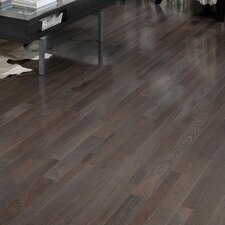 "Homestyle 3-1/4"" Solid White Oak Hardwood Flooring in Charcoal"