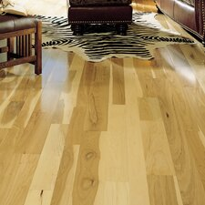 "Specialty 5"" Engineered Hickory Hardwood Flooring in Natural"