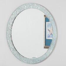 Molten Round Wall Mirror