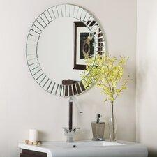 Laine Frameless Beveled Wall Mirror