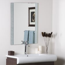 Sam Frameless Wall Mirror
