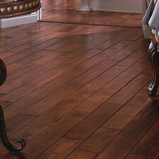 "5"" Solids Hickory Hardwood Flooring in Smokehouse"