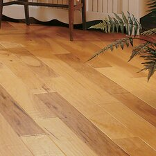 "5"" Engineered Hickory Hardwood Flooring in Spicy Cider"
