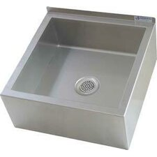 """23"""" x 23"""" Single Mop Sink with Drain"""