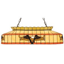 Victory Eagle 3 Light Billiard Pendant
