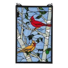 Cardinal Morning Window