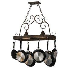 Elana 2 Light Pot Rack