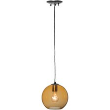 Bola Amber 1 Light Mini Pendant