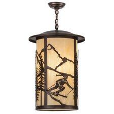 Greenbriar Oak 3 Light Pendant