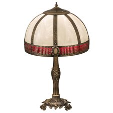 "Greenbriar Oak Gothic 27"" Table Lamp"