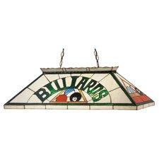 Billiard and Rack 6 Light Pool Table Light