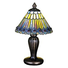 "Tiffany 12"" H Table Lamp with Empire Shade"