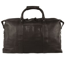 "Heritage 14"" Leather Carriage Travel Duffel"