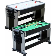 2-in-1 Sport Junior Air Hockey and Pool Table