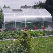 "RIGA V 9'8"" W x 17'6"" L x 7'7"" H Polycarbonate Commercial Greenhouse"