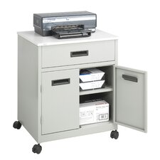 Mobile Printer Stand with Drawer