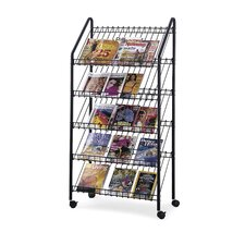 Mobiler Zeitschriftenständer