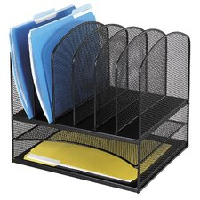 Onyx Mesh 2 Shelf Desk Organiser