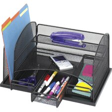 Onyx 3 Drawer Desk Organiser