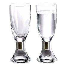 Elegance Snaps Glass (Set of 2)