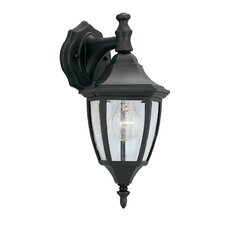 Budget Cast Aluminum 1 Light Outdoor Wall Lantern