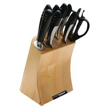 9 Piece Cutlery Block Set