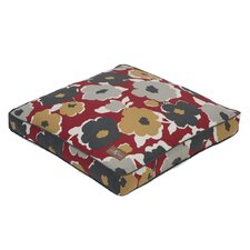 Everyday Cotton Square Pillow Dog Bed