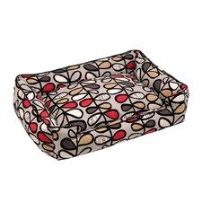 Vines Lounge Bolster Pet Bed