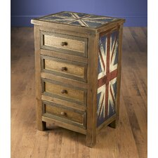 Britania 4 Drawer Chest