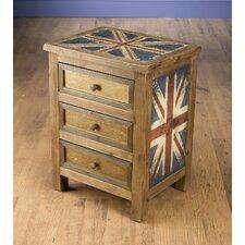 Britania 3 Drawer Chest