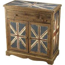 Britania 1 Drawer and 2 Door Chest