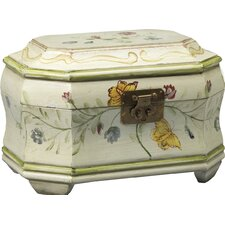 Floral Hinged Decorative Box