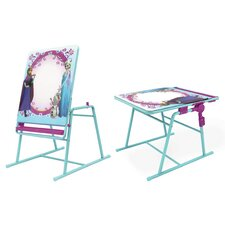 Frozen Sisters 2-in-1 Covertible Easels with 3 Dry-Erase Markers
