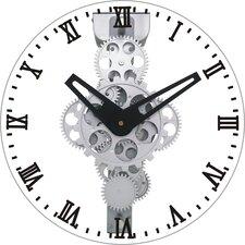 "12"" Moving Gear Wall Clock"