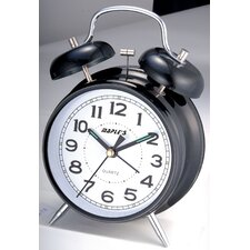 "4"" Double Bell Alarm Clock"