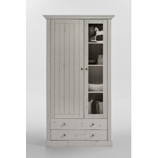 Monaco Solid Wood Display Cabinet