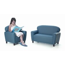 Enviro-Child Just Like Home 2 Piece Kids Sofa and Chair Set