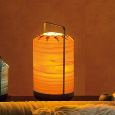 "Chou 15.7"" H Table Lamp with Drum Shade"