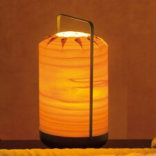 "Chou 10.6"" H Table Lamp with Drum Shade"