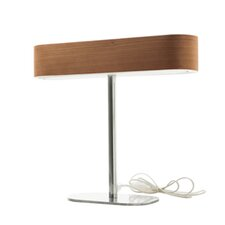 "I-Club 14.4"" H Table Lamp with Oval Shade"
