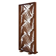 "80.7"" x 36.8"" Paisley Screen 1 Panel Room Divider"