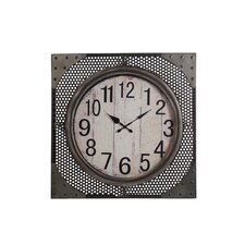 "Oversized 28"" Iron Wall Clock"