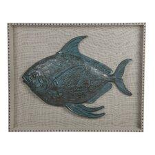 Resin Fish Wall Decor