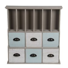 6 Drawer Storage Chest